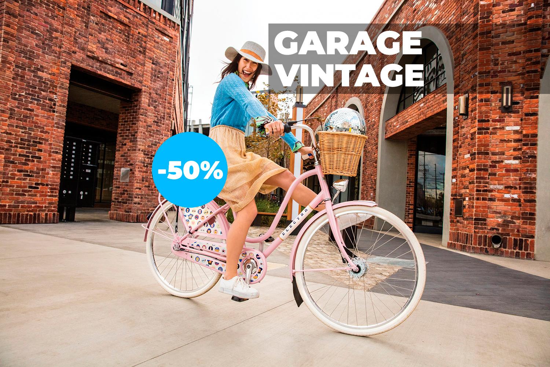 Garage Vintage. Велосипеды со скидками до 50%