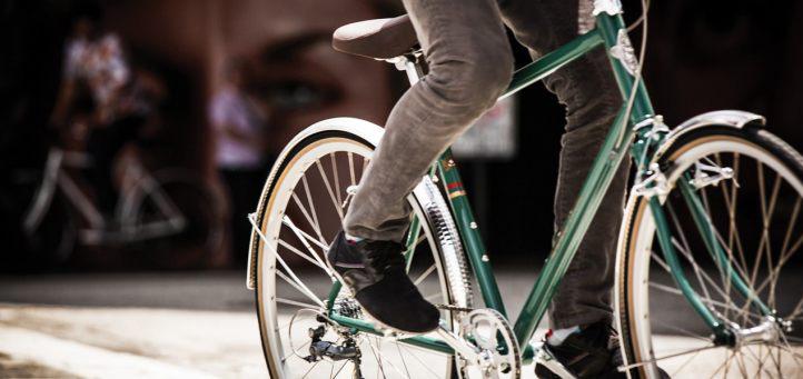 Облегченный велосипед с алюминиевой рамой