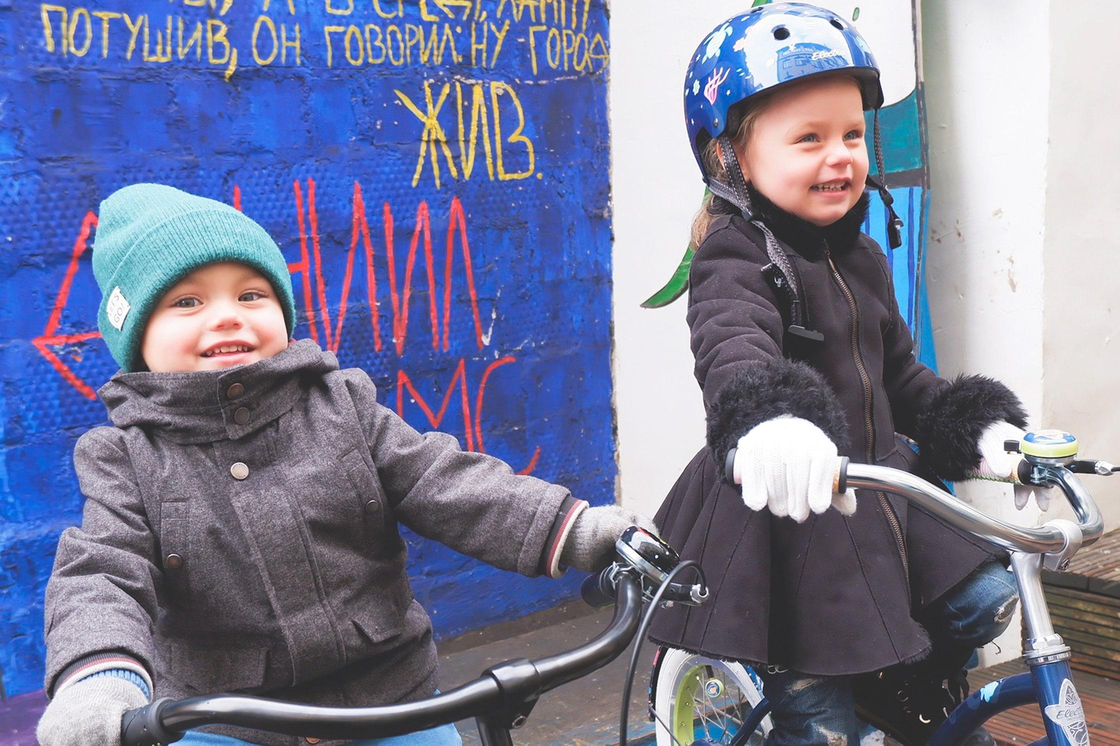 Как выбрать велосипед для ребёнка 3-5 лет?